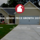 Real house price growth 2017