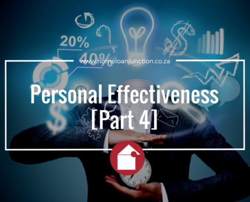 Personal Effectiveness [Part 4]