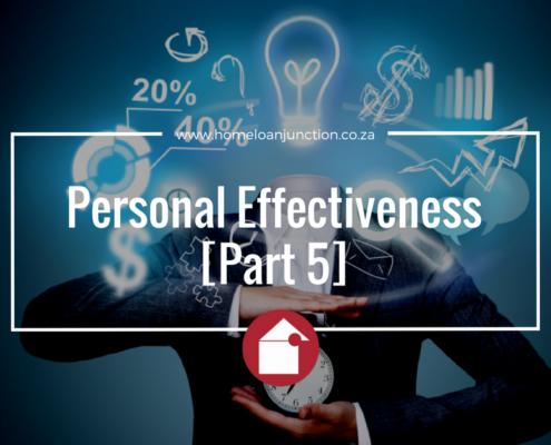 Personal Effectiveness [Part 5]