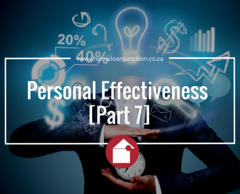 Personal Effectiveness [Part 7]