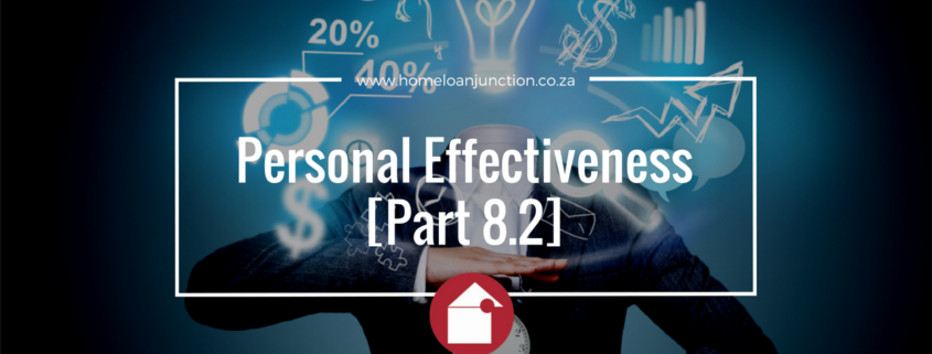 Personal Effectiveness [Part 8.2]