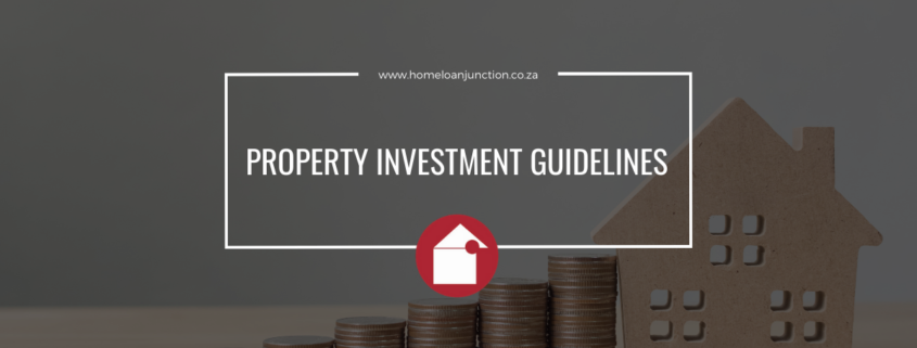 PROPERTY INVESTMENT GUIDELINES