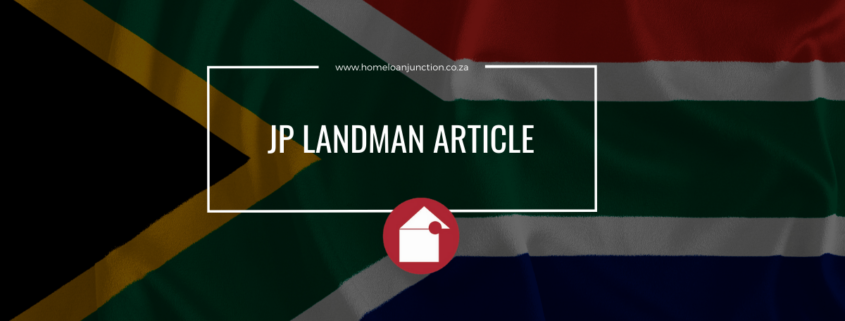 JP LANDMAN ARTICLE